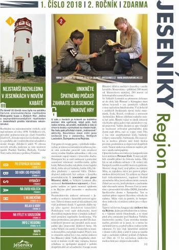Turistické noviny pro návštěvníky Jeseníků